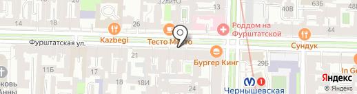 ШБ Оптика на карте Санкт-Петербурга