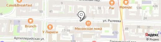 ETCompany на карте Санкт-Петербурга