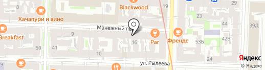 Фармацевтическая ассоциация Санкт-Петербурга и Северо-Запада на карте Санкт-Петербурга