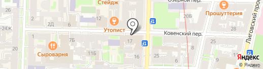 Усть-Луга Ойл на карте Санкт-Петербурга