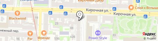 Аудиомания на карте Санкт-Петербурга