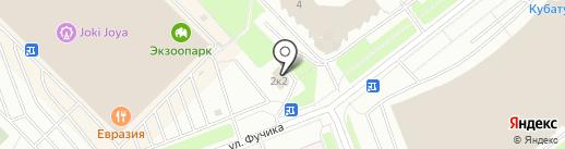 СтандартАвто на карте Санкт-Петербурга
