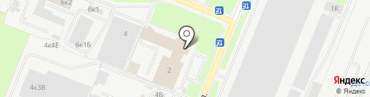 Аварийно-технический центр Минатома России, ФГУП на карте Санкт-Петербурга