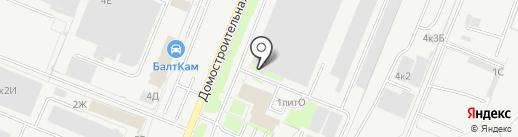 Торгово-сервисная компания на карте Санкт-Петербурга