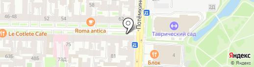 Емельян на карте Санкт-Петербурга