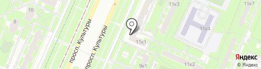 АКБ Авангард, ПАО на карте Санкт-Петербурга