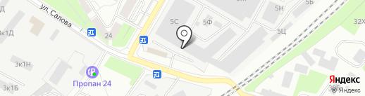 СварКон-Сервис на карте Санкт-Петербурга