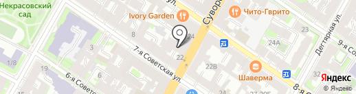 Макошь на карте Санкт-Петербурга