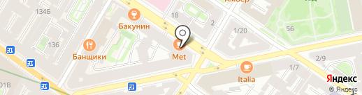 Дамиан на карте Санкт-Петербурга