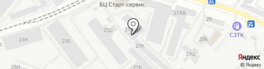 АРЕТЕ, ЗАО на карте Санкт-Петербурга