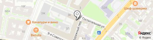 Экостандарт на карте Санкт-Петербурга