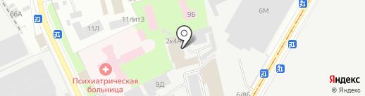 Стройпредприятие №14 на карте Санкт-Петербурга