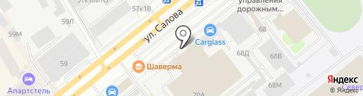 Центр Автомобильной Торговли на карте Санкт-Петербурга