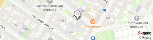 Единая городская диспетчерская служба ритуальных услуг на карте Санкт-Петербурга