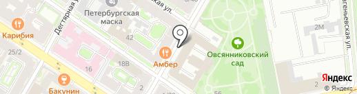 14 отряд ФПС по г. Санкт-Петербургу на карте Санкт-Петербурга