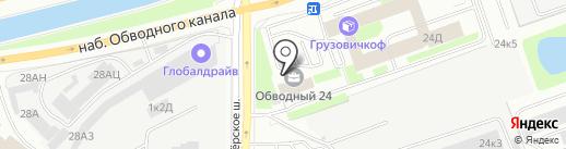 Экопроект, ЗАО на карте Санкт-Петербурга