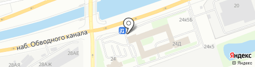Nokia на карте Санкт-Петербурга