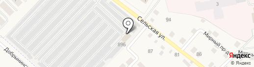 Шиномонтажная мастерская на карте Коммунара
