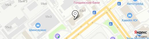 Европейская гильдия на карте Санкт-Петербурга