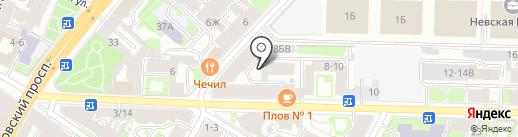 Стройпласт-Инжиниринг на карте Санкт-Петербурга