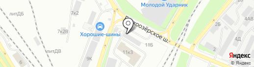 БалтАвтоСбыт на карте Санкт-Петербурга