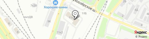 ГОРОДСКОЕ ТАКСИ 912 на карте Санкт-Петербурга