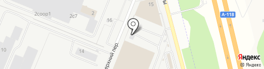 ДАММАР на карте Санкт-Петербурга