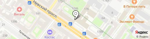 Отдел по вопросам законности, правопорядка и безопасности Администрации Центрального района на карте Санкт-Петербурга