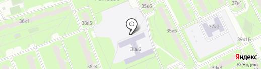 Центр среднего профессионального образования на карте Санкт-Петербурга