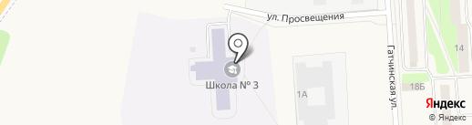 Коммунар на карте Коммунара