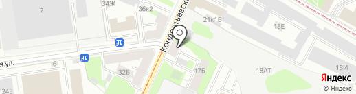 7777010 на карте Санкт-Петербурга