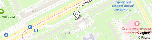 Библиотека им. А.А. Прокофьева на карте Санкт-Петербурга
