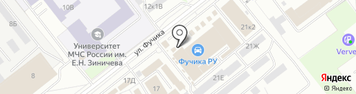 Магазин авточехлов на карте Санкт-Петербурга