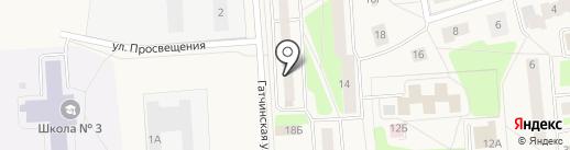 Аптечный пункт на карте Коммунара