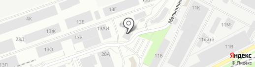 Камелот на карте Санкт-Петербурга