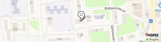 Мастерская по ремонту обуви на карте Коммунара