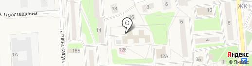 Жилищно-коммунальная служба на карте Коммунара