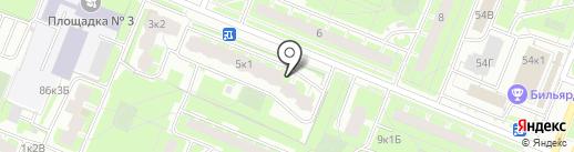 Кристалл, ТСЖ на карте Санкт-Петербурга
