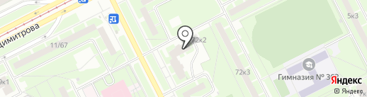 АНАЛИТПРИБОР на карте Санкт-Петербурга