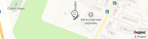 Муравей на карте Бугров