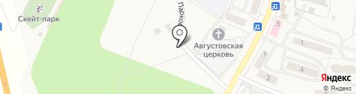 Беркут на карте Бугров