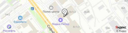 АлКом на карте Санкт-Петербурга