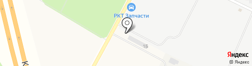 Шиномонтажная мастерская на карте Бугров