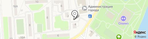 РТВ на карте Коммунара