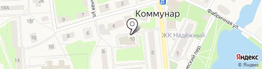 РФН-Геодезия СПб на карте Коммунара