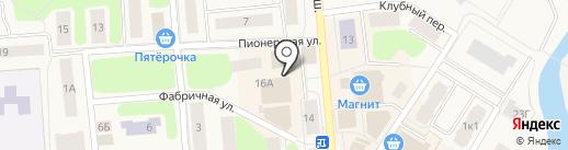 Эконом на карте Коммунара