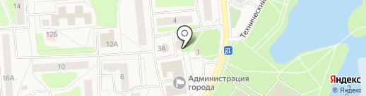 Мигом на карте Коммунара
