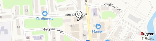 Детки на карте Коммунара