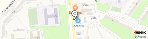 Центр Здоровья, МКУ на карте Коммунара