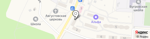 Стэк на карте Бугров